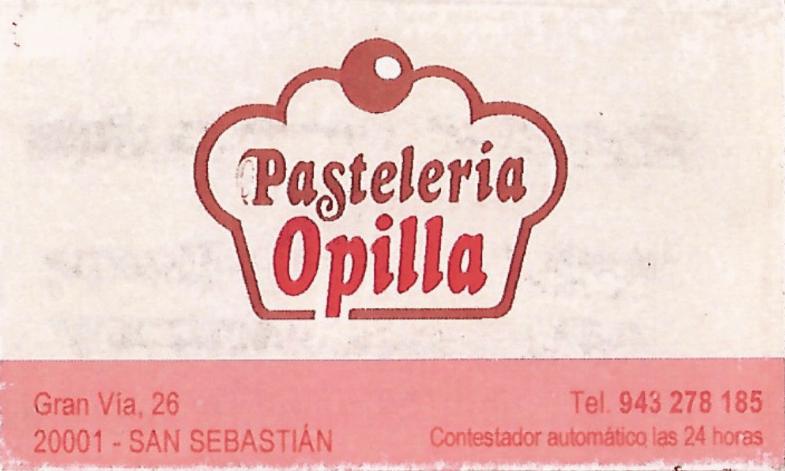 Pastelería Opilla
