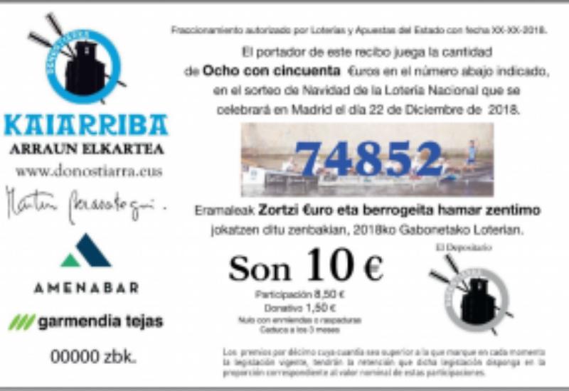 Gure Eguberriko loteriaren salmenta-leku ofiziala